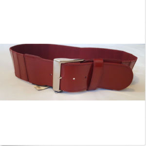 The Limited Red Stretch Elastic Waist Fashion Belt